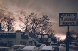 Dirty January Sunset