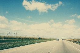 Florida Highway, on the Way to Orlando