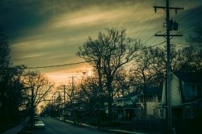 Street Sunset