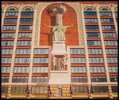 Facade of the Sheraton City Center