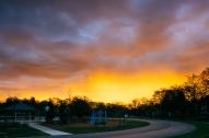 Ottawa Hills school sunrise IV