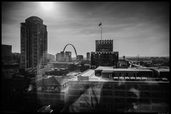 St. Louis from a Hotel Window