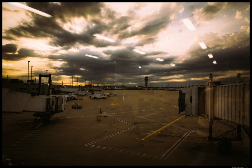 Sunset at the St. Louis Airport III