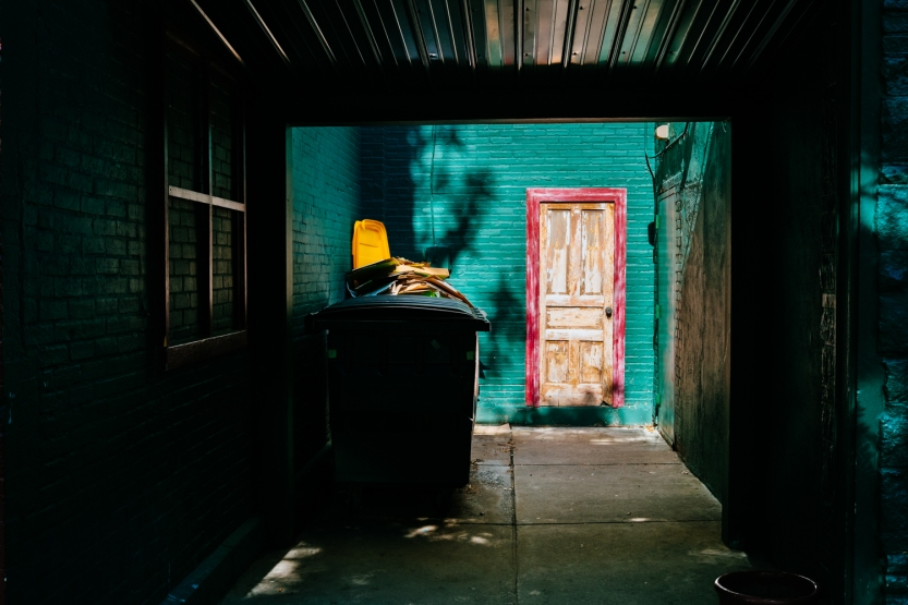 Alley-Door