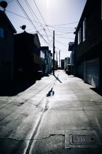 Newport Beach Alley