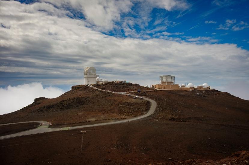 Observatory atop Haleakala