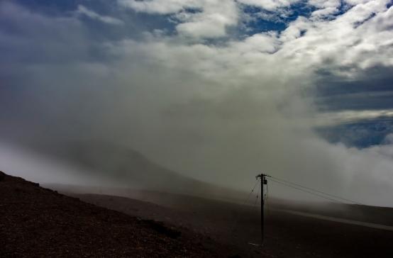power line Haleakala