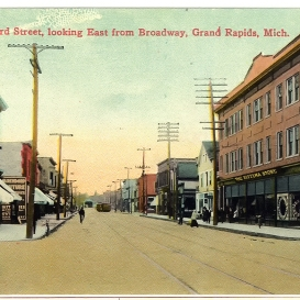 West Leonard and Broadway Nik
