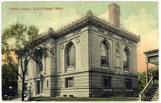 Ryerson Library Postcard